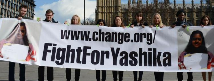 Oasis Academy Hadley #FightforYashika Campaign